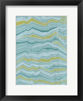 Tectonic Stripes II Framed Print