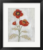 Framed Lovely Botanical IV