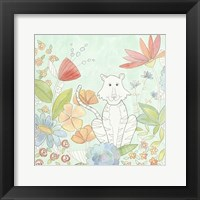 Nick's Animal Garden II Framed Print
