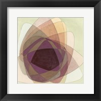 Framed Rose Facet I