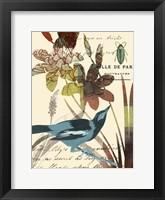 Framed Exotic Blossom I