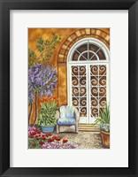 Framed Tuscan Veranda I