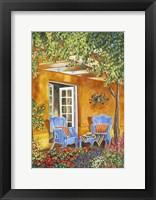 Framed Tuscan Veranda II