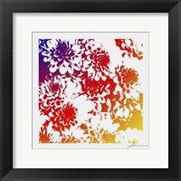 Framed Floral Brights III