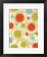 Framed Pixilated Burst IV