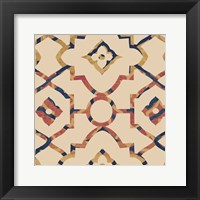 Framed Morocco Tile I