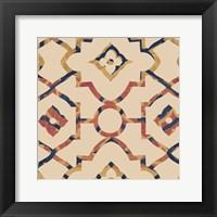 Framed Morocco Tile I