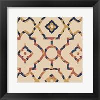 Framed Morocco Tile II