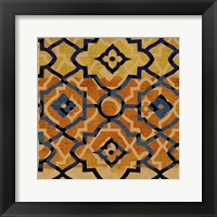 Framed Morocco Tile VI