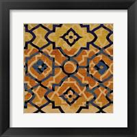 Framed Morocco Tile VI