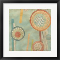 Bits & Pieces III Framed Print