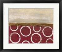Going in Circles II Framed Print