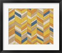 Framed Modern Chevron I