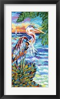 Beach Comber I Framed Print