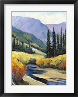 Purple Mountain Majesty I Framed Print