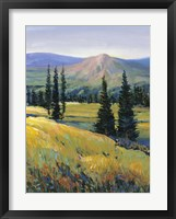 Purple Mountain Majesty II Framed Print