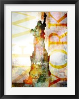 High Above II Framed Print