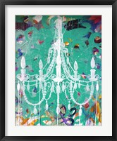 Framed Emerald Chandelier