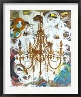 Framed Rust Chandelier