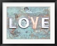 Framed Love Patina II