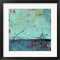 Blue Bay Marina II Framed Print
