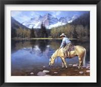 Framed Colorado Cowboy