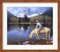 Framed Colorado Cowboy