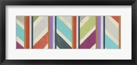 Old Chevron II Framed Print