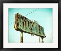 Framed Vintage Motel I
