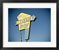 Framed Vintage Motel II