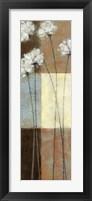 Raku Blossoms I Framed Print