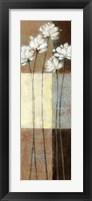 Raku Blossoms II Framed Print