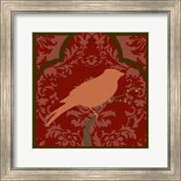 Framed Moroccan Songbird I