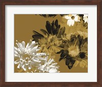 Framed Golden Bloom I