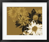 Framed Golden Bloom II