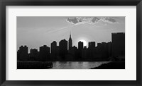 Panorama of NYC I Framed Print