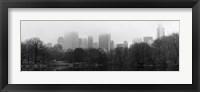 Panorama of NYC III Framed Print