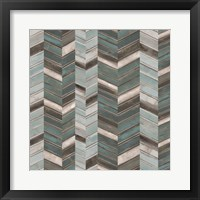 Stacked Chevron I Framed Print