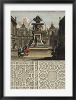 Architectura Curiosa II Framed Print