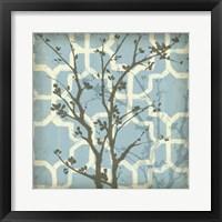 Framed Silhouette & Pattern I