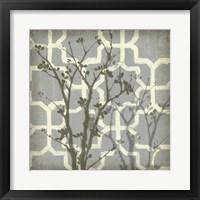 Framed Silhouette & Pattern V