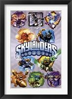Framed Skylanders Core - Grid