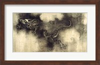 Framed Nine Dragons