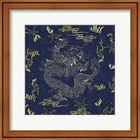Framed Dragon Flag