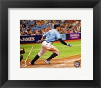 Framed Evan Longoria 2014 Action