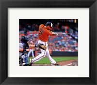 Framed J.J. Hardy 2014 Action