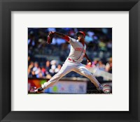 Framed Aroldis Chapman 2014 Action