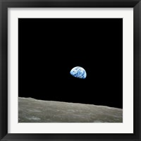 Framed Earthrise