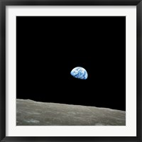 Framed Earthrise