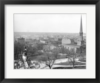 Framed Capitol Square Richmond, Va.